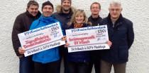 Rekordbeteiligung beim 12. Irlbacher Silvesterlauf