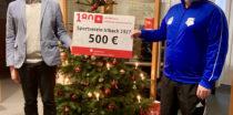 Sparkasse Niederbayern-Mitte spendet 500 Euro an SV Irlbach
